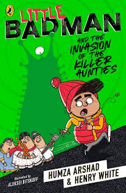 Bookwagon Little Badman and the Invasion of the Killer Aunties