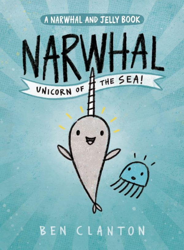 Bookwagon Narwhal Unicorn of the Sea