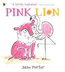 Bookwagon Pink Lion