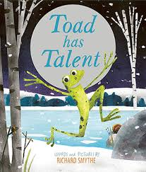 Bookwagon Toad has Talent