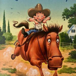 Bookwagon Leroy Ninker Saddles Up