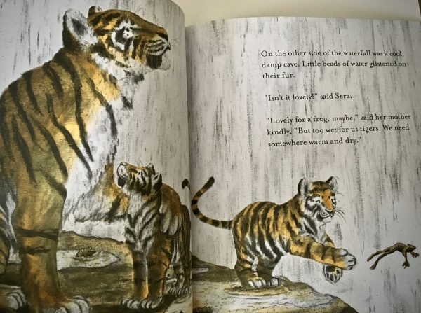 Bookwagon extract Little Tigers