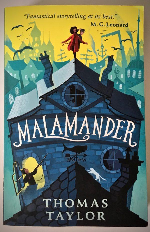 Bookwagon Malamander cover