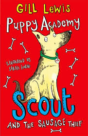 Bookwagon Puppy Academy Scout and the Sausage Thief