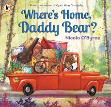Bookwagon Where's Home, Daddy Bear?