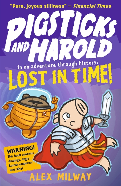 Pigsticks and Harold: Lost in Time! Cover image