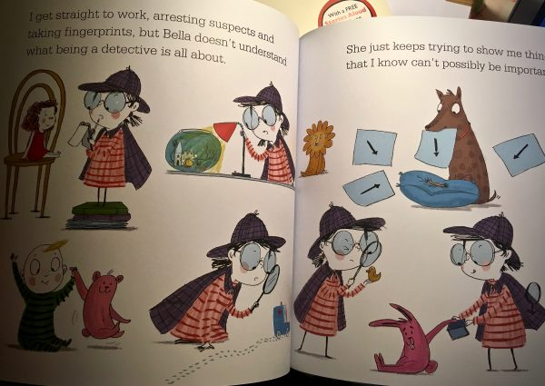 Bookwagon extract Sophie Johnson Detective Genius