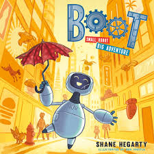 Bookwagon Boot Small Robot Big Adventure