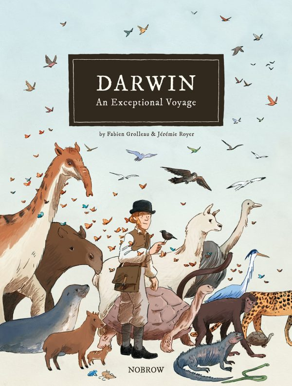 Darwin: An Exceptional Voyage Cover