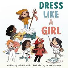 Bookwagon Dress Like a Girl