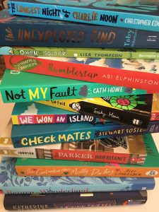 A sample of great new chapter books (c) Bookwagon