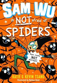 Bookwagon Sam Wu is NOT afraid of Spiders