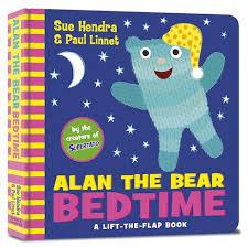 Bookwagon Alan the Bear Bedtime