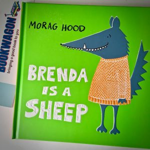 Brenda is a Sheep Bookwagon