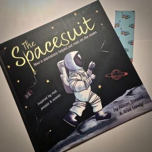 The Spacesuit Bookwagon