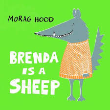 Bookwagon Brenda is a Sheep