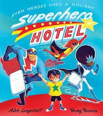 Bookwagon Superhero Hotel