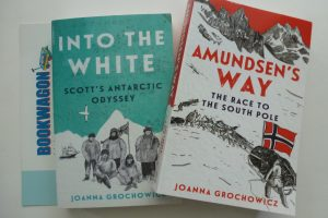 Bookwagon (C) Into the White and Amundsen's Way
