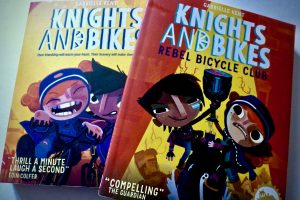 Bookwagon (C) Knights and Bikes series
