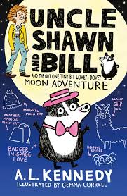 Bookwagon Uncle Shawn and Bill and the Not One Tiny Bit Lovey- Davey Moon Adventure
