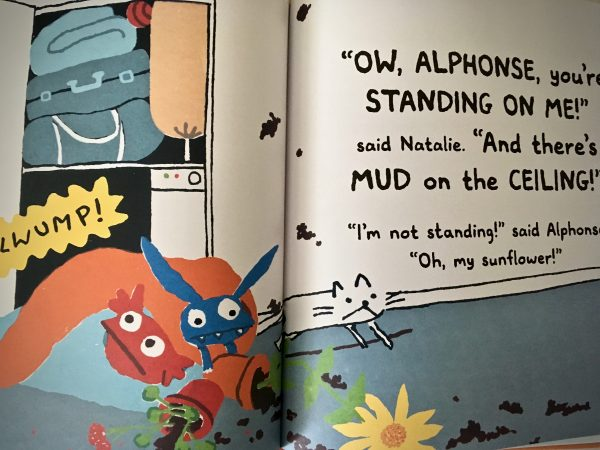 Alphonse, There's Mud on the Ceiling! (C) Bookwagon extract