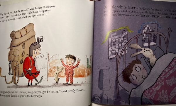 Emily Brown and Father Christmas (C) extract Bookwagon
