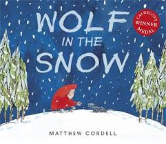 Bookwagon Wolf in the Snow