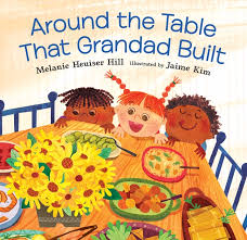 Bookwagon Around the Table that Grandad Built