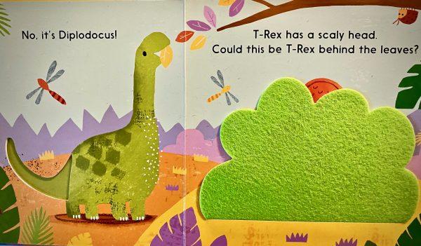 Bookwagon (C) Let's Find the Dinosaur