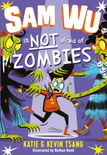 Bookwagon Sam Wu is NOT afraid of Zombies