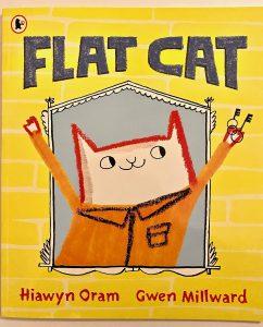 Flat Cat (C) Bookwagon