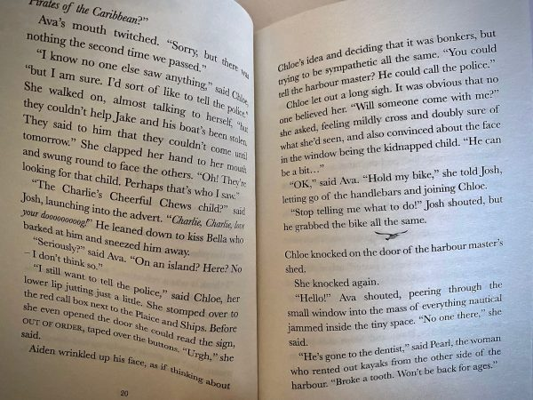 Clifftoppers The Thorn Island Adventure (C) Bookwagon extract