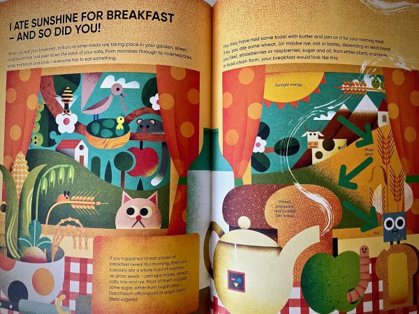 I Ate Sunshine for Breakfast (C) Bookwagon extract