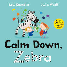 Bookwagon Calm Down, Zebra