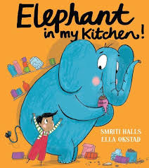 Bookwagon Elephant in My Kitchen!