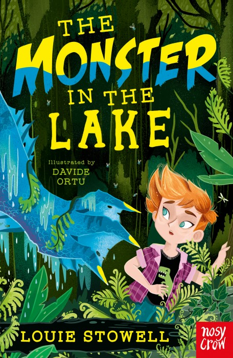 The Monster in the Lake cover