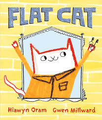Bookwagon Flat Cat