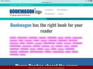 Tag cloud (c) Bookwagon