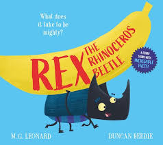 Bookwagon Rex the Rhinoceros Beetle