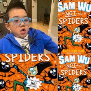 Sam Wu is NOT afraid of… (c) Bookwagon