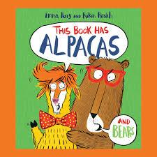 Bookwagon This Book Has Alpacas and Bears