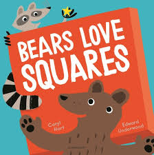 Bookwagon Bears Love Squares