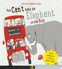 Bookwagon You Can't Take an Elephant on the Bus