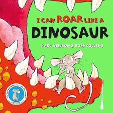 Bookwagon I Can ROAR Like a Dinosaur