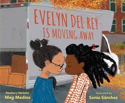 Bookwagon Evelyn Del Rey is Moving Away