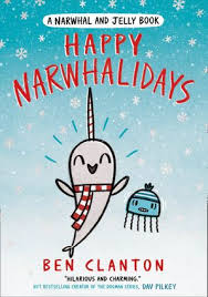 Bookwagon Happy Narwhalidays