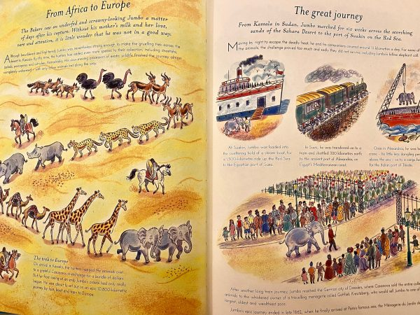 Jumbo The Most Famous Elephant who Ever Lived Bookwagon (C) extract