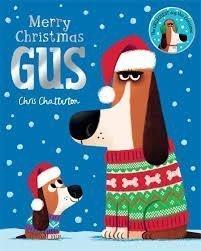 Bookwagon Merry Christmas Gus