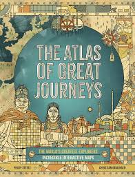Bookwagon The Atlas of Great Journeys