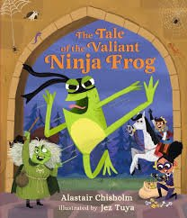 Bookwagon The Tale of the Valiant Ninja Frog